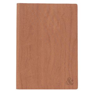 Otto A5 Journal Woodgrain PU Brown 192 Page