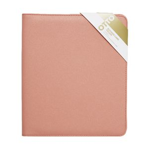 Otto Criss Cross Business Folder Coral