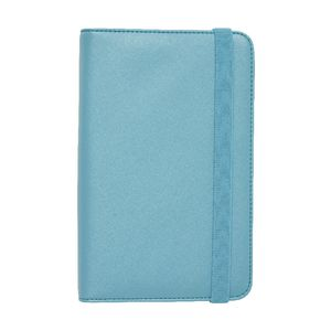 Otto Business Card Binder 3UP Criss Cross Teal