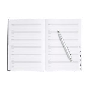 Otto A5 Address Book Grey Triangle