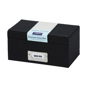 jburrows business card box black - Business Card Box