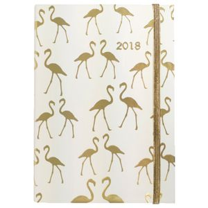 Otto A5 WTV 2018 Diary 144 Pages Flamingo