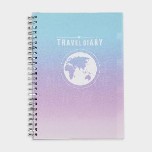 Otto A5 Spiral Travel Journal PP 120 Pages