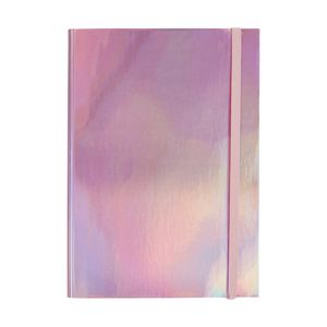 Otto A5 Hard Cover Notebook 192 Pages Metallic