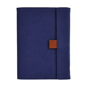 Otto A5 Fold Flap Notebook with Grid Pad 128 Pages Dark Blue