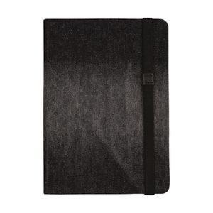 Otto A5 Denim Notebook 192 Pages Black