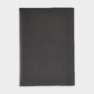 Otto A5 Italian PU Book Cover with Refill 128 Pages Black
