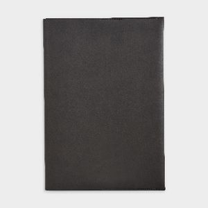 Otto B5 Italian PU Book Cover with Refill 128 Pages Black
