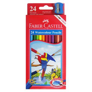 Faber-Castell Watercolour Pencils 24 Pack