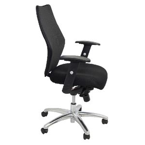 Rapidline AM200 Executive Medium Back Mesh Chair Black