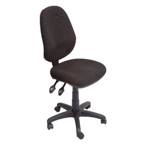 Rapidline Operator High Back 3 Lever Ergonomic Chair Black