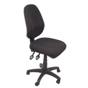 Rapidline Operator Chair High Back Fully Ergonomic Black