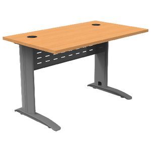 Rapidspan Electric Height Adjustable Desk 1200 x 700mm Beech