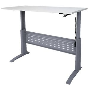 Rapidspan Electric Height Adjustable Desk 1200 x 700mm White