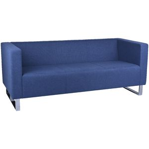 Rapidline Enterprise 3 Seat Lounge Chair Blue