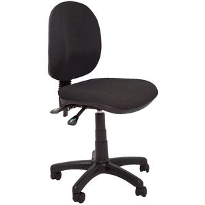 Rapidline Operator Medium Back Task Chair Black