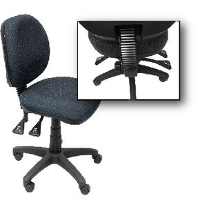 Rapidline Operator Medium Back Task Chair Blue