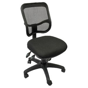 Rapidline Operator Medium Back Ergonomic Chair Black