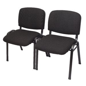 Rapidline Nova 4 Leg Visitor Chair Black