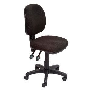 Rapidline Operator Medium Back Chair Black