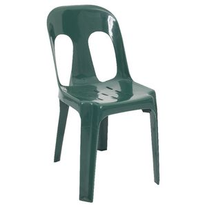 Rapidline Pipee Stacking Chair Green
