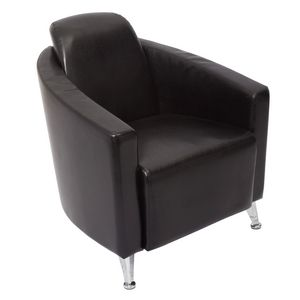 Rapidline Pluto Lounge Chair Single Seater Black
