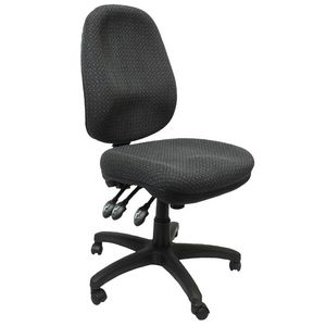 Rapidline Executive Operator Chair Heavy Duty Charcoal