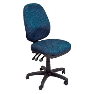 Rapidline Executive Operator Chair Heavy Duty Blue