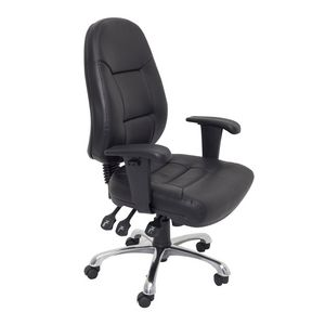 Rapidline Executive Operator Chair Ergonomic Black