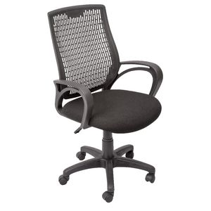 Rapidline RE100 Mesh Back Chair Black