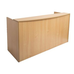 Rapidline Reception Counter 1500mm Beech | Tuggl
