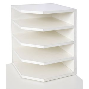 Rapid Span 2 Way Paper Holder White