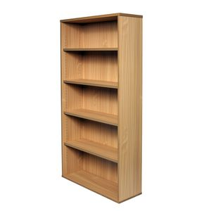 Rapid Span Bookcase 1800mm Beech