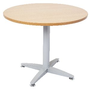 Rapidline Round Table 900mm Beech