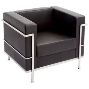 Rapidline Space Lounge Single Seater Black