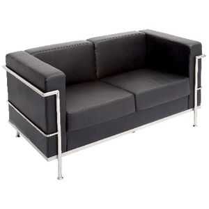 Rapidline Space Lounge 2 Seater Black