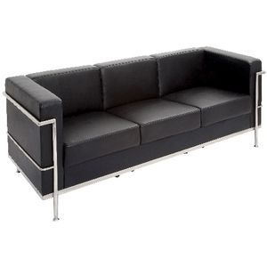 Rapidline Space Lounge 3 Seater Black