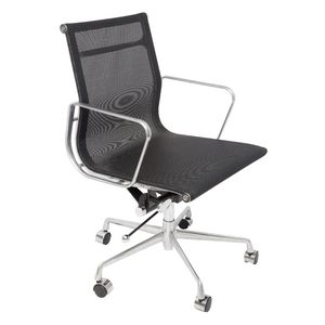 Rapidline Mesh Meeting Room Chair Black
