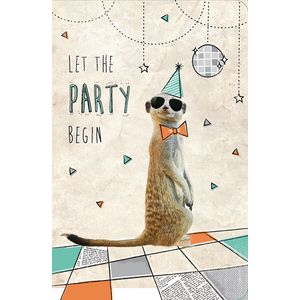 Frankly Funny Birthday Card Meerkat