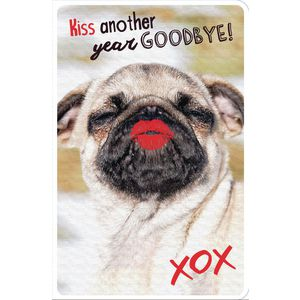 Frankly Funny Birthday Card Pug