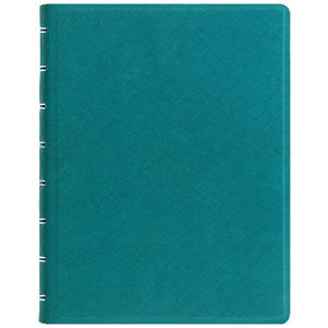 Filofax Saffiano A5 Organiser with Notebook Aqua