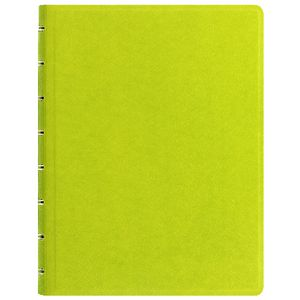 Filofax Saffiano A5 Organiser with Notebook Pear