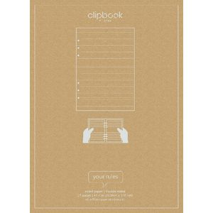Filofax Ruled Notepaper White