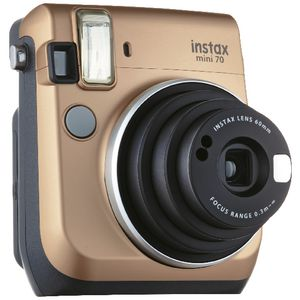 Fujifilm Instax Mini 70 Instant Camera Gold
