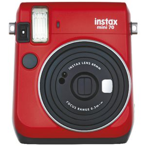 Fujifilm Instax Mini 70 Instant Camera Red
