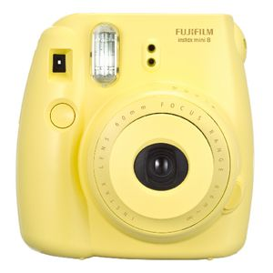 Fuji Instax Mini 8 Camera Yellow | Officeworks