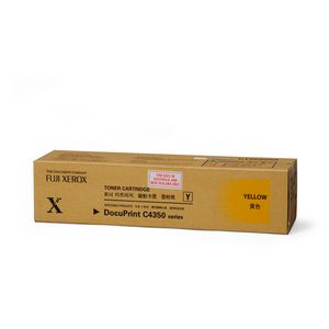 Fuji Xerox Toner Cartridge Yellow C4350
