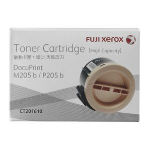 Fuji Xerox High Capacity Toner Cartridge Black CT201610