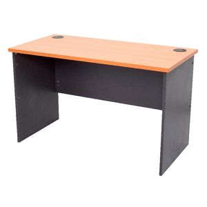 Furnx Laptop Table 900 x 600mm Beech and Ironstone