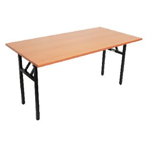 Furnx Steel Frame Folding Table 1500 x 750mm Beech